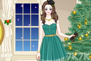 《圣诞装女孩》游戏画面2