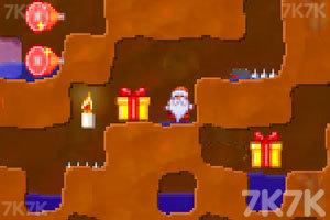 《圣诞老人挖坑》游戏画面3