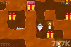 《圣诞老人挖坑》游戏画面2