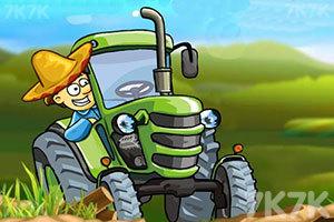 《拖拉机运输大赛》游戏画面1
