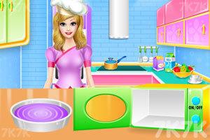 《彩虹蛋糕的制作》游戏画面2