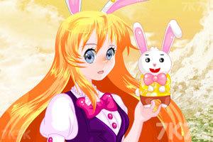 《兔小美元旦萌萌哒》游戏画面2