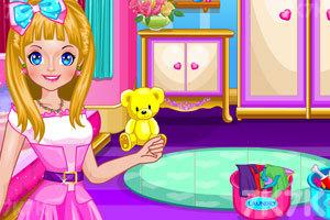 《娃娃屋清洁》游戏画面2