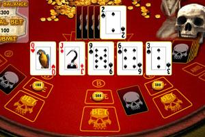 加勒比海盗扑克