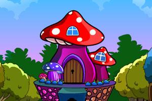 《蘑菇房子逃生》游戏画面1
