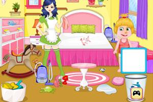 玛莎保姆打扫房间