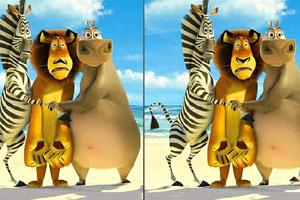 马达加斯加找不同