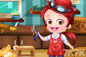 《可爱宝贝当木匠》游戏画面2