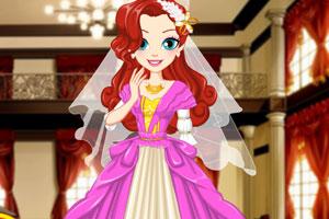 公主的奢华婚礼服