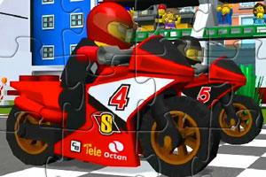 《乐高摩托车拼图》游戏画面1