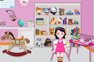 《凯迪的房间布置》游戏画面1