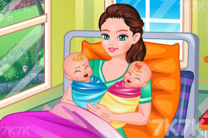 《妈妈生双胞胎》游戏画面1