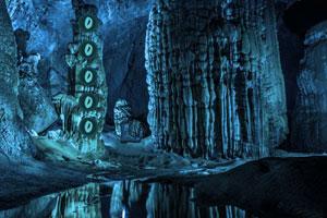 《逃离蓝宝石洞穴》游戏画面1