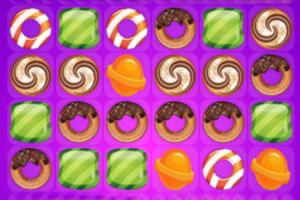 《可爱糖果消消乐》游戏画面1
