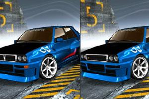 《蓝旗亚汽车找不同》游戏画面1