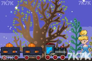 《装卸运煤火车6无敌版》游戏画面1