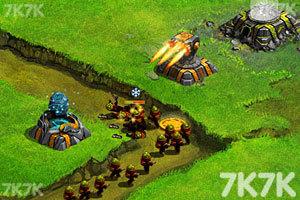 《星際塔防戰中文版》游戲畫面4