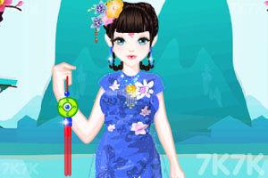 《中国公主的装扮》游戏画面2