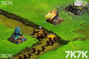 《星际塔防战中文无敌版》游戏画面2