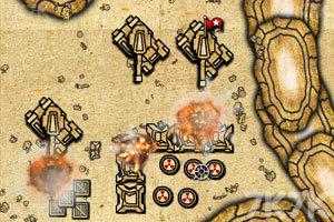 《进击的坦克无敌版》游戏画面3