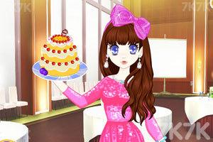 《森迪公主的母亲节蛋糕》游戏画面2