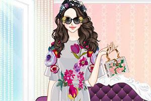 《绣花裙装》游戏画面1