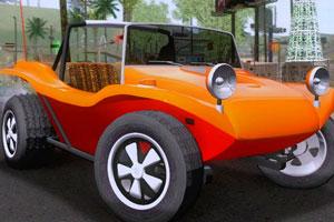 越野沙滩车找轮胎