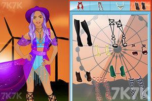 《时尚工作室的节日装》游戏画面1