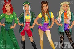 《时尚工作室的节日装》游戏画面3