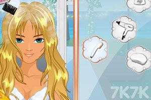《婚礼的时尚发型》游戏画面2