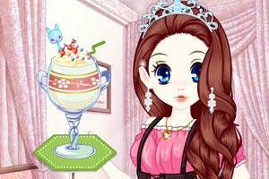 《森迪公主的夏日冰饮》游戏画面1