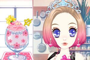 《森迪公主的夏日冰饮》游戏画面3