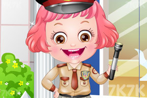 《可爱宝贝保安装扮》游戏画面3