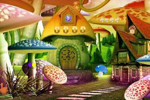 《逃离幻想蘑菇村庄》游戏画面1