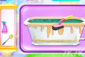 《浴室清洁与装饰》游戏画面2