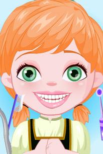 安娜公主看牙医
