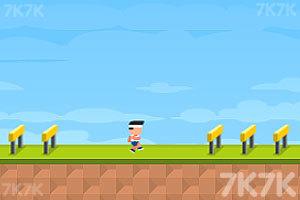 《跨栏挑战赛》游戏画面1