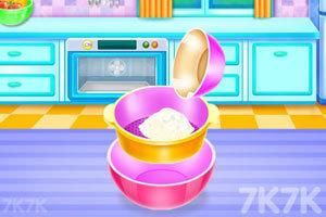 《娃娃屋蛋糕烹饪》游戏画面3