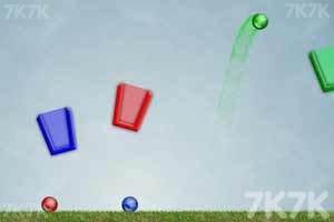 《弹球入杯》游戏画面1