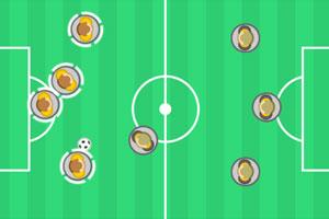 《按钮足球》游戏画面1