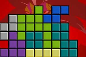 《恶魔俄罗斯方块》游戏画面1