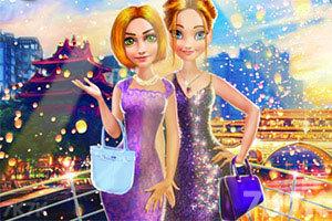 《外籍公主访问中国》游戏画面1