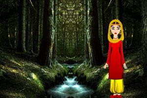 《营救女孩逃离狼人》游戏画面1