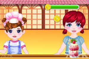 《小宝贝餐厅》游戏画面1