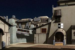《逃离沙漠中的城市》游戏画面1