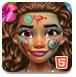 公主的脸部绘画