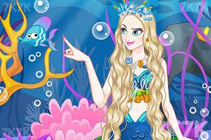 《调皮的美人鱼》游戏画面1