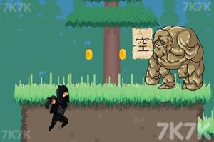 《黑衣忍者》游戏画面1