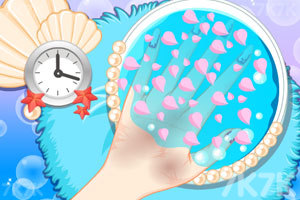 《人鱼公主美甲小铺》游戏画面2