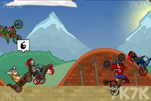 《自行车环球赛2中文版》游戏画面3